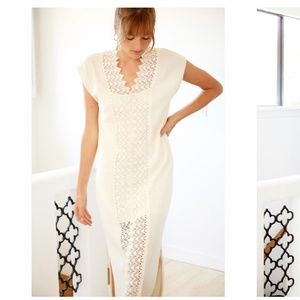 Anthropologie Callahan Sun Dress Wedding Boho gown